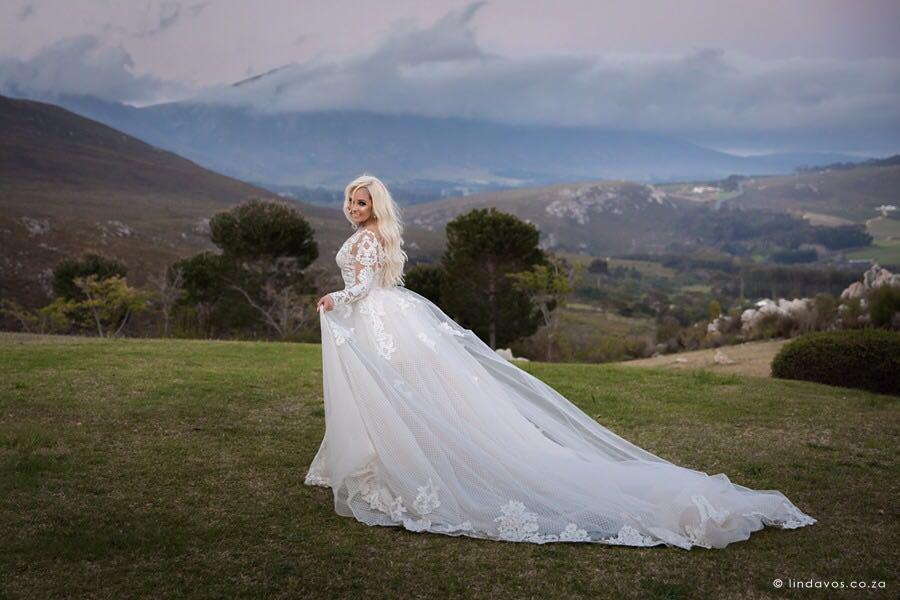 Bride, Xeniah at Bon Dea in Hermanus