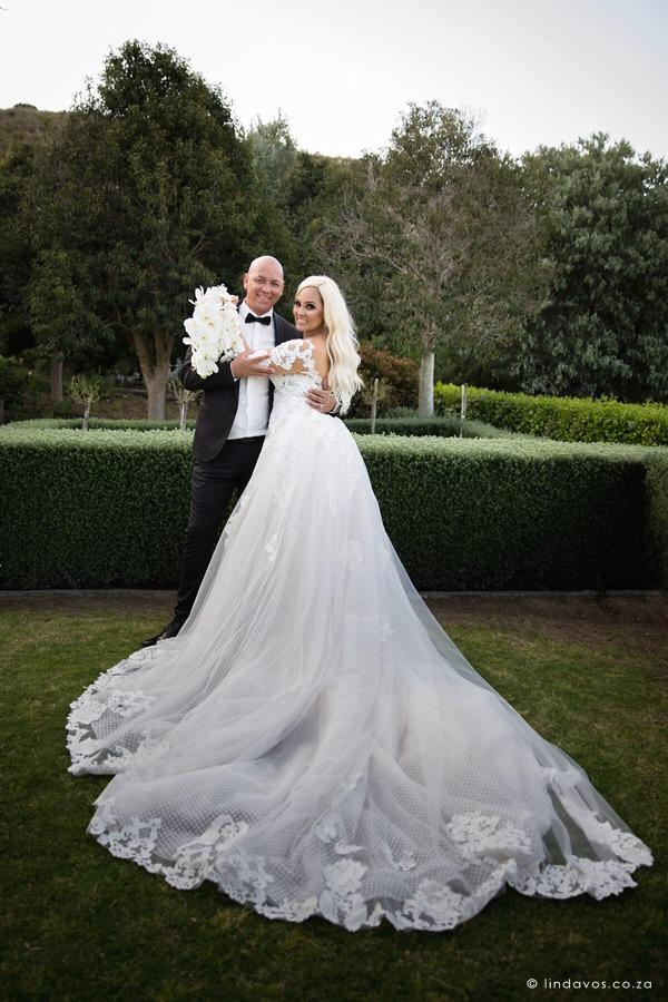 Bridal couple, Xeniah Asia and Paul Gorries